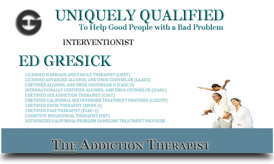Sex Addiction Therapy In San Jose By Ed Gresick Professional Therapy